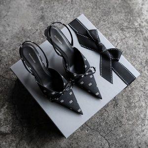 Balenciaga Slingback Knife Heels